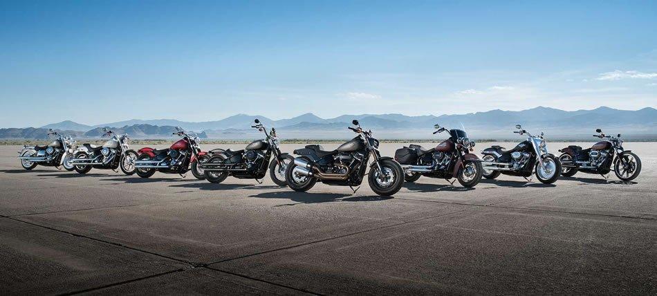 Linha 2018 Harley-Davidson Softail