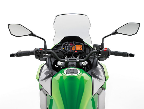 Kawasaki Versys X-300 Verde 2018 Brasil Painel