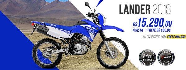 Nova Lander 250 2018 Preço Competition Blue Azul