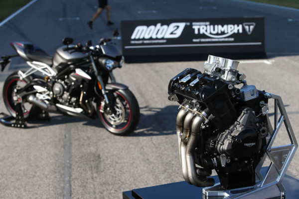Street Triple 2018 Motor