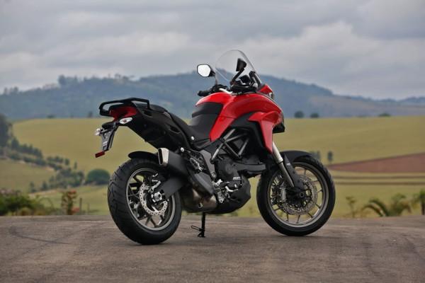 Nova Ducati Multistrada 950 no Brasil vista traseira