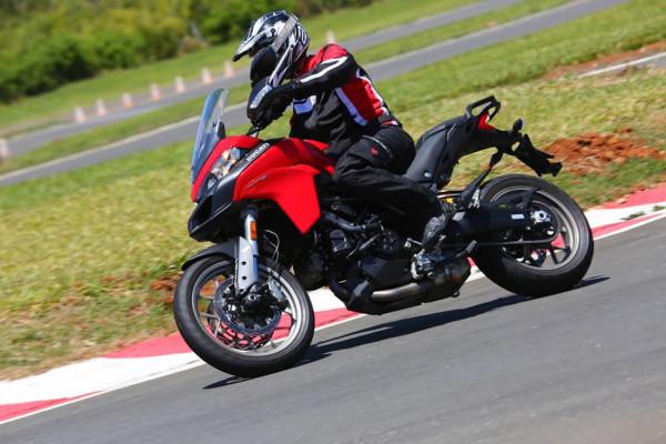 Nova Ducati Multistrada 950 no Brasil Pista