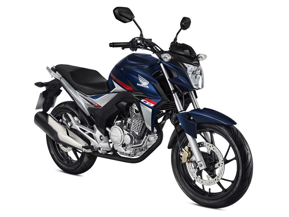 Nova CB Twister 2018 Azul Perolizado | Motorede