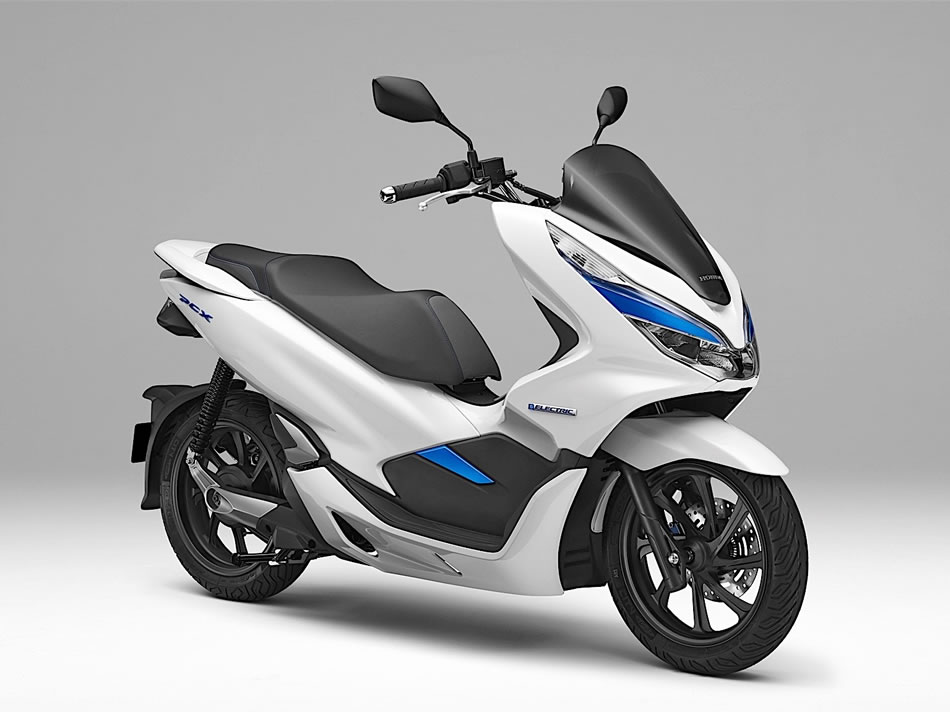 honda pcx el trica electric frente motorede. Black Bedroom Furniture Sets. Home Design Ideas