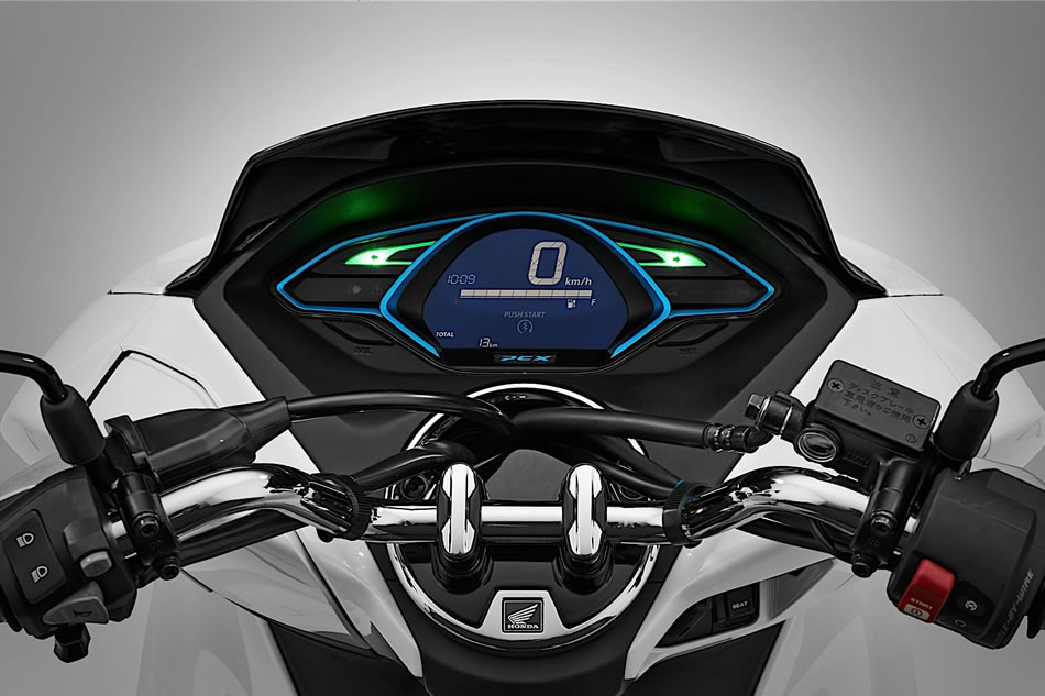 honda pcx el233trica electric painel digital motorede