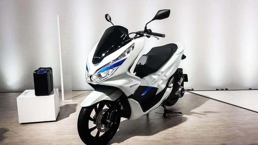 Honda PCX Elétrica (Electric) Lateral   Motorede