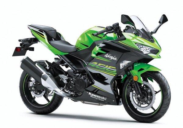 Kawasaki Ninja 400 2018 Verde Lateral