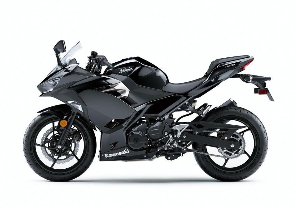 Kawasaki Ninja 400 2018 Preta Lateral Motorede