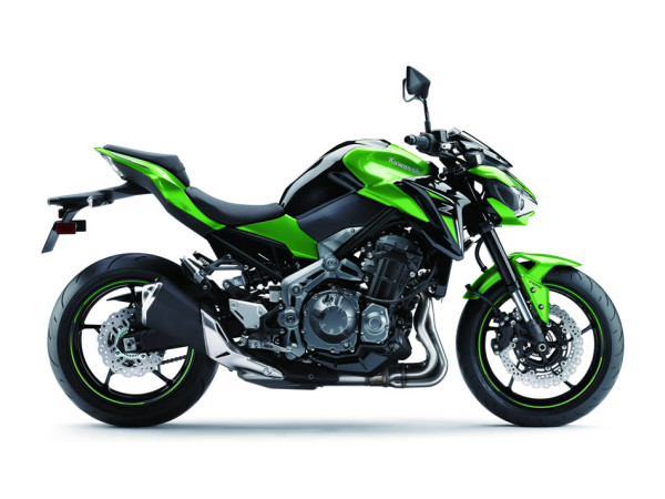 Kawasaki Z900 2018 no Brasil Verde