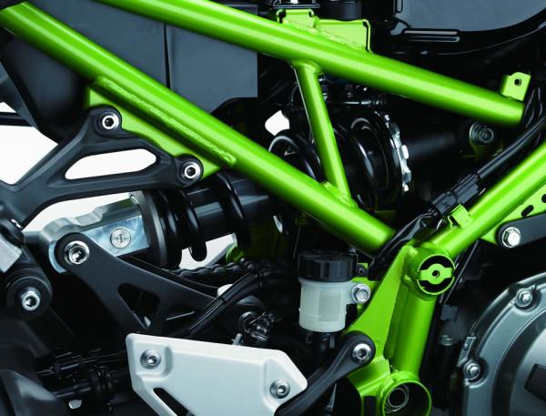 Kawasaki Z900 2018 Suspensão
