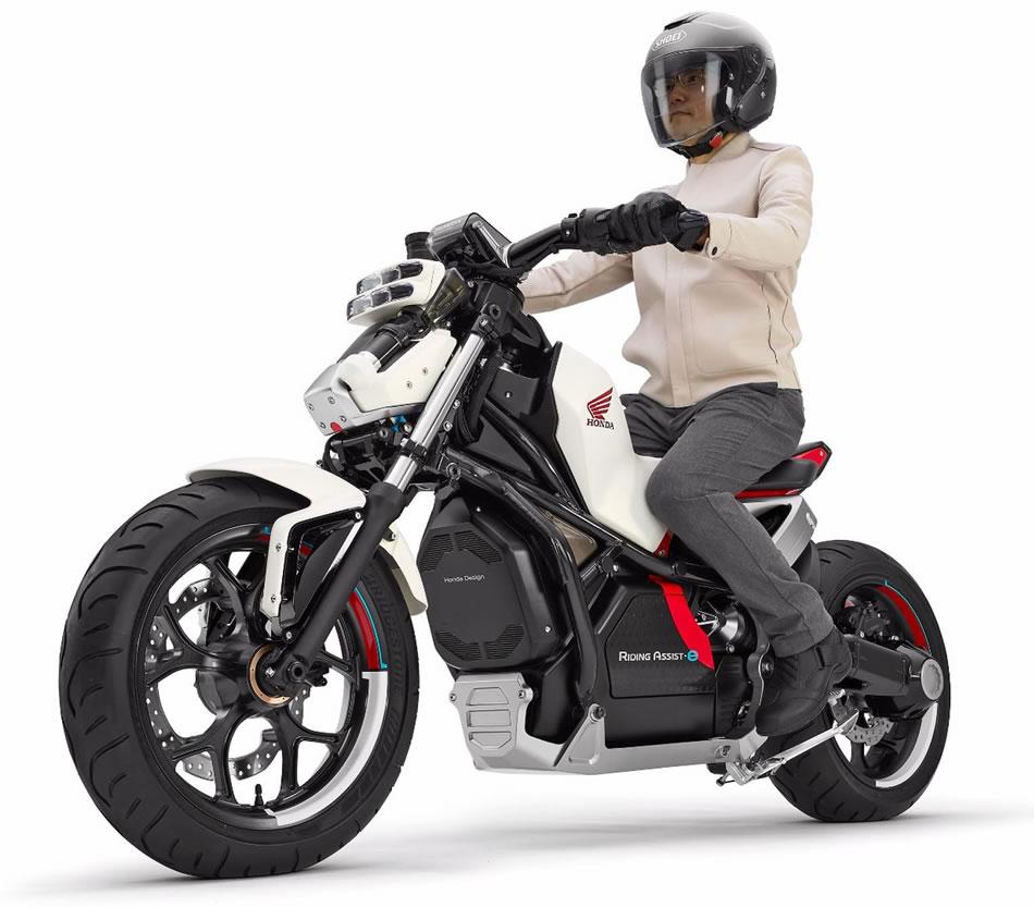 Moto El 233 Trica Honda Riding Assist E Motorede