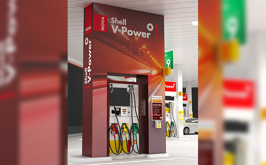 Nova Gasolina Shell V-Power Brasil