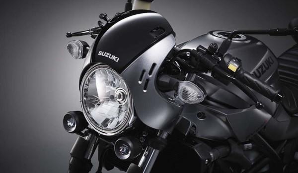 Suzuki SV 650X Café Racer 2018 Farol