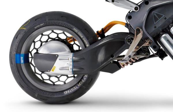 Yamaha Motoroid Suspensão