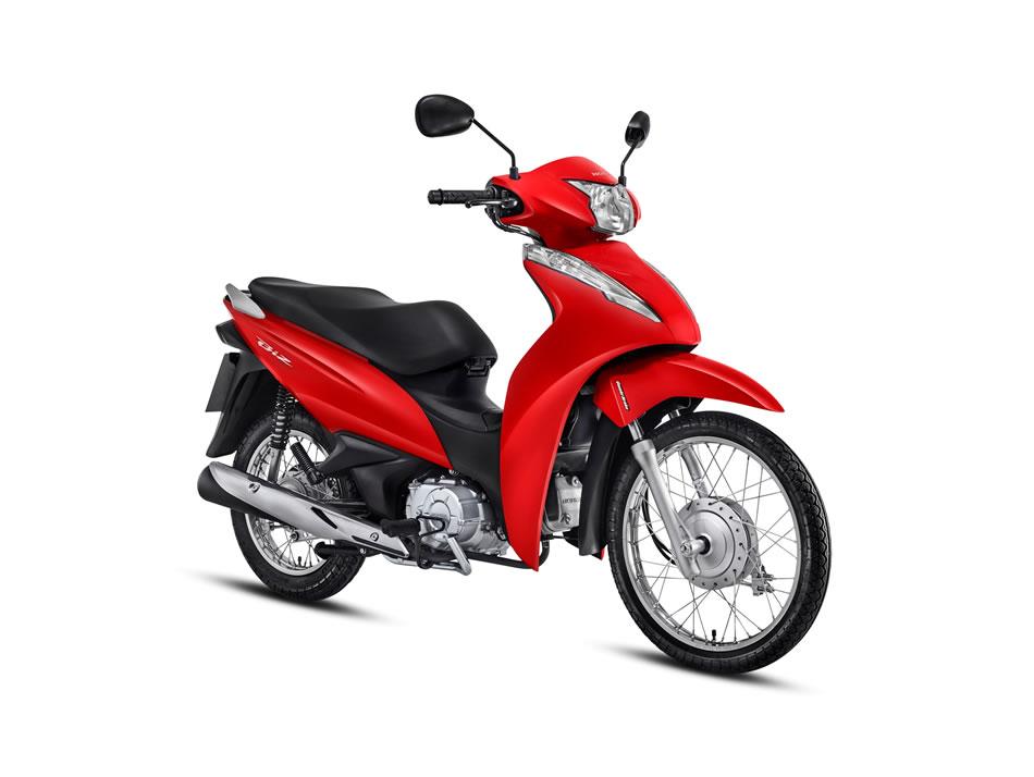 Biz 110i Vermelha 2018 Motorede