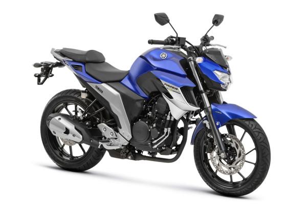 Nova Fazer 250 ABS 2108 Azul frente