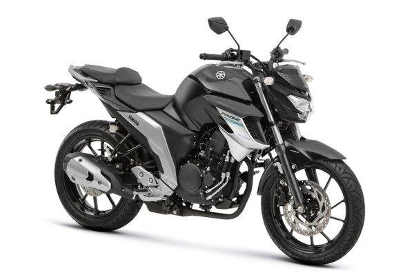 Nova Fazer 250 ABS 2108 Preta frente