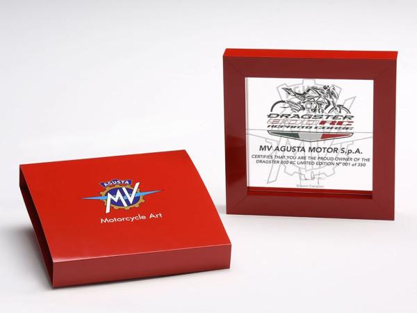 MV Agusta Dragster 800 RC 2018 Certificado Edição Limitada