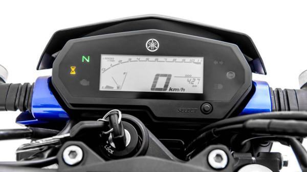 Nova Yamaha Fazer 250 2018 Painel