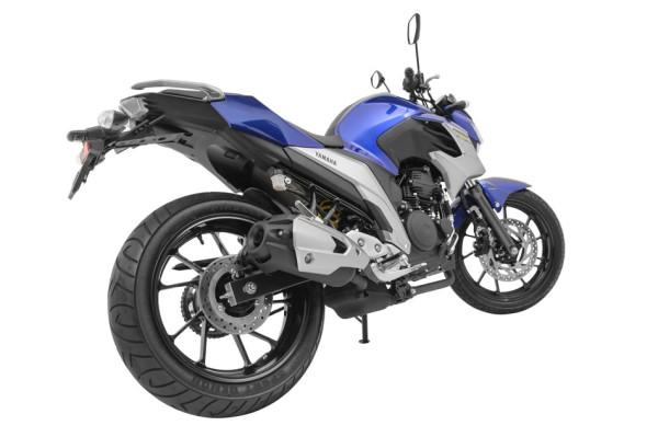 Nova Yamaha Fazer 250 2018 Cor Azul