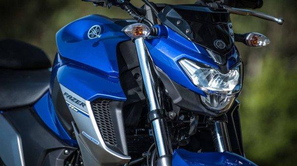Nova Yamaha Fazer 250 2018 Frente