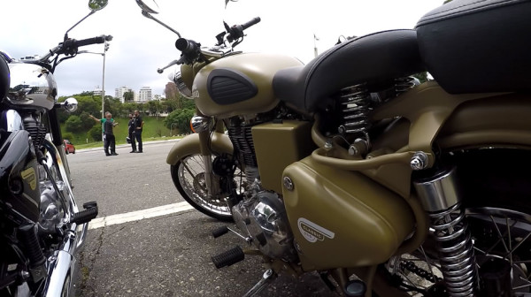 Royal Enfield Classic 500 Desert Storm test-ride
