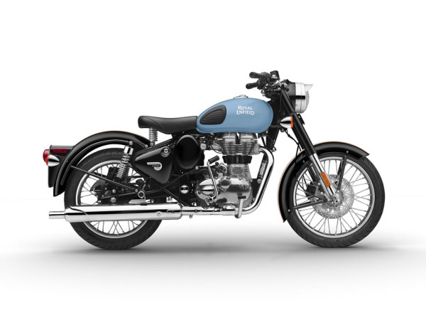 Royal Enfield Classic 500 Redditch Azul