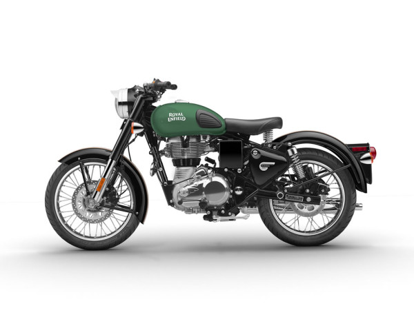 Royal Enfield Classic 500 Redditch Verde