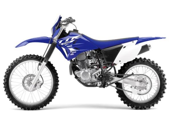 Yamaha TTR 230 2018 Azul Lado