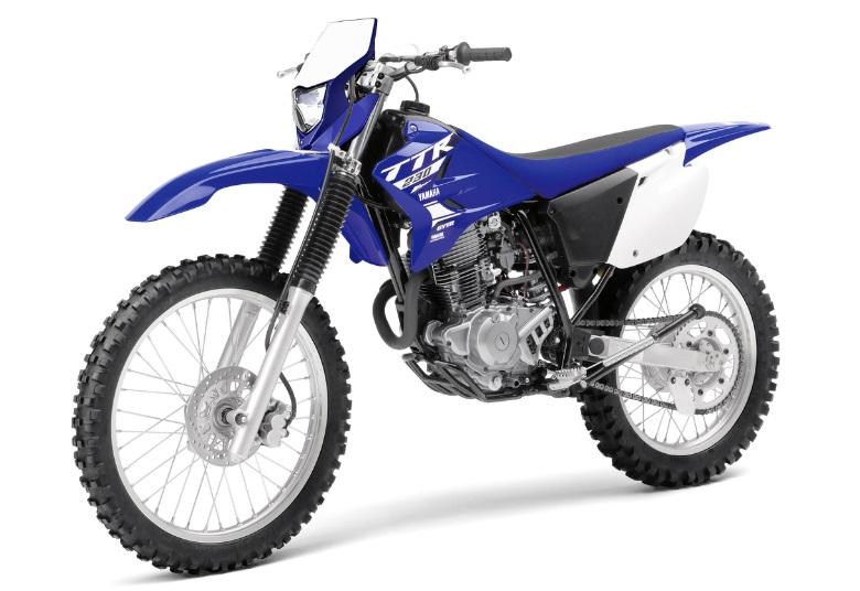 Yamaha ttr 230 2018 azul frente motorede for Yamaha ttr 150 for sale