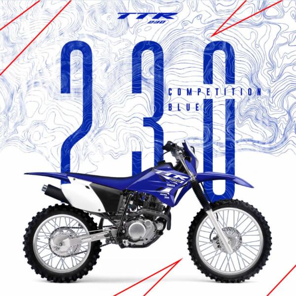 Yamaha TTR 230 2018 Competition Blue