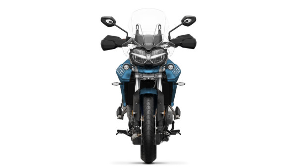 Tiger 800 XRt 2018 Azul no Brasil