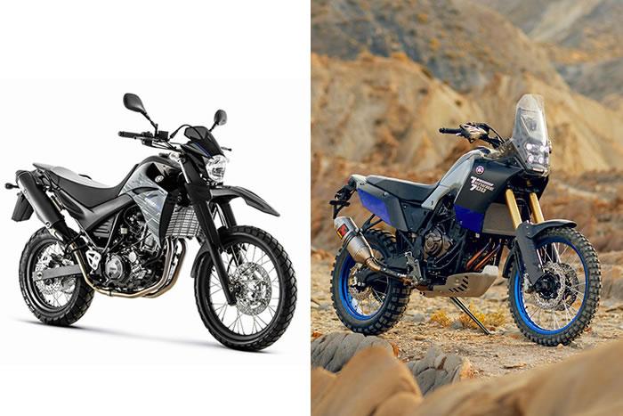 Substitua yamaha xt 660 motorede for Yamaha 700 tenere