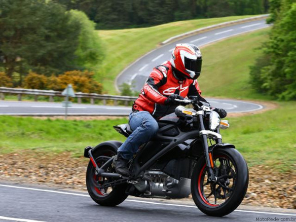 Moto Elétrica Harley-Davidson-Livewire