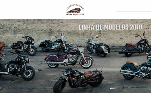 Modelos 2018 Indian Motorcycles