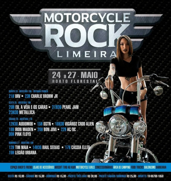 Motorcycle Rock Limeira 2018