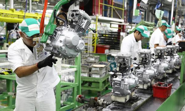 Produção de Motos Brasil Honda 2018