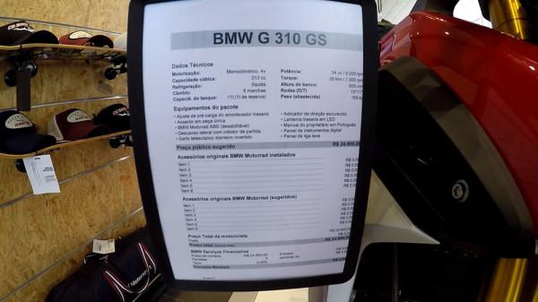 Test-ride BMW G 310 GS Preço Oficial