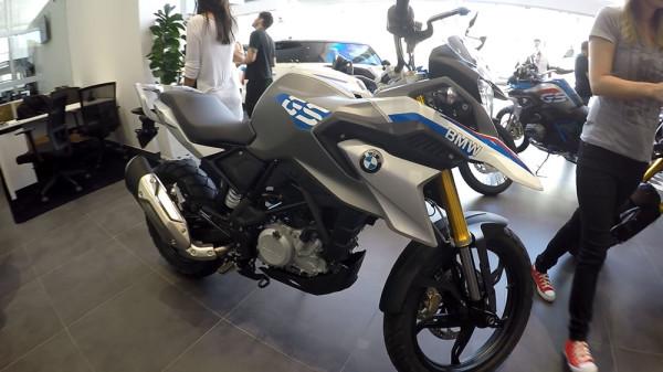 Test-ride BMW G 310 GS Cor Branca