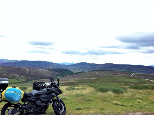 Largar Tudo Viajar de Moto Escócia