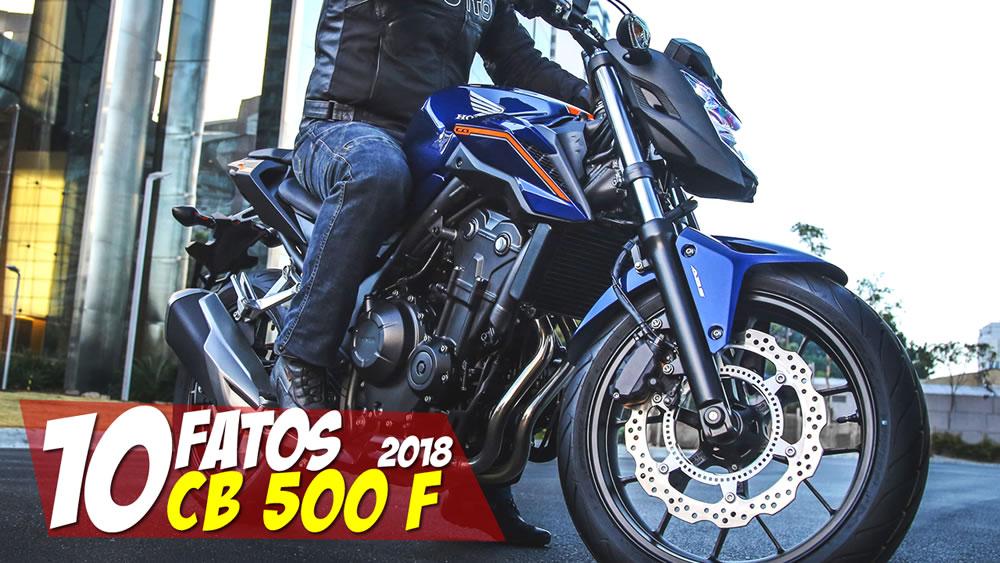 10 FATOS CB 500F 2018
