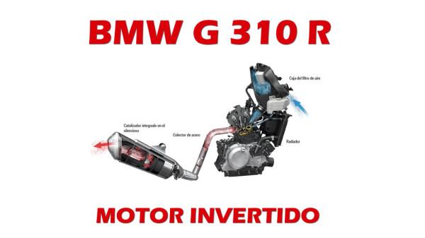 BMW G 310 R Motor Invertido