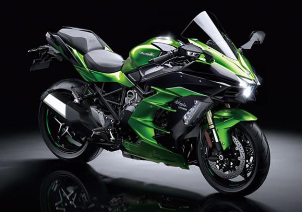 Kawasaki Ninja H2 SX 2019 no Brasil