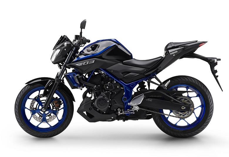 yamaha mt 03 2019 azul motorede. Black Bedroom Furniture Sets. Home Design Ideas