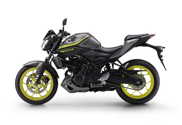 Yamaha MT-03 2019 Cinza com Verde