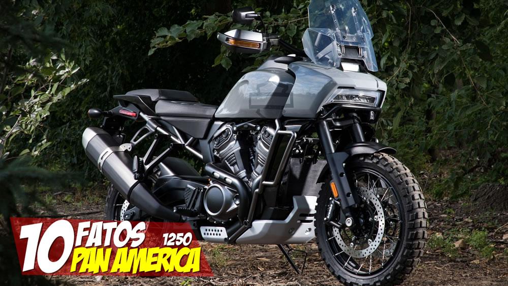 10 Fatos Harley-Davidson Pan America 1250