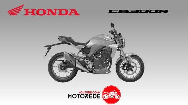 Nova CB 300R Imagem de Registro Honda Brasil