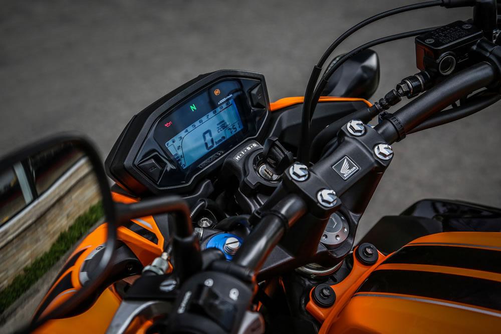 CB 500F 2019 Laranja Painel | Motorede