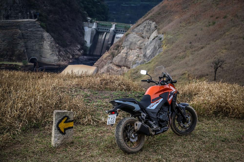 CB 500X 2019 na cor Laranja | Motorede