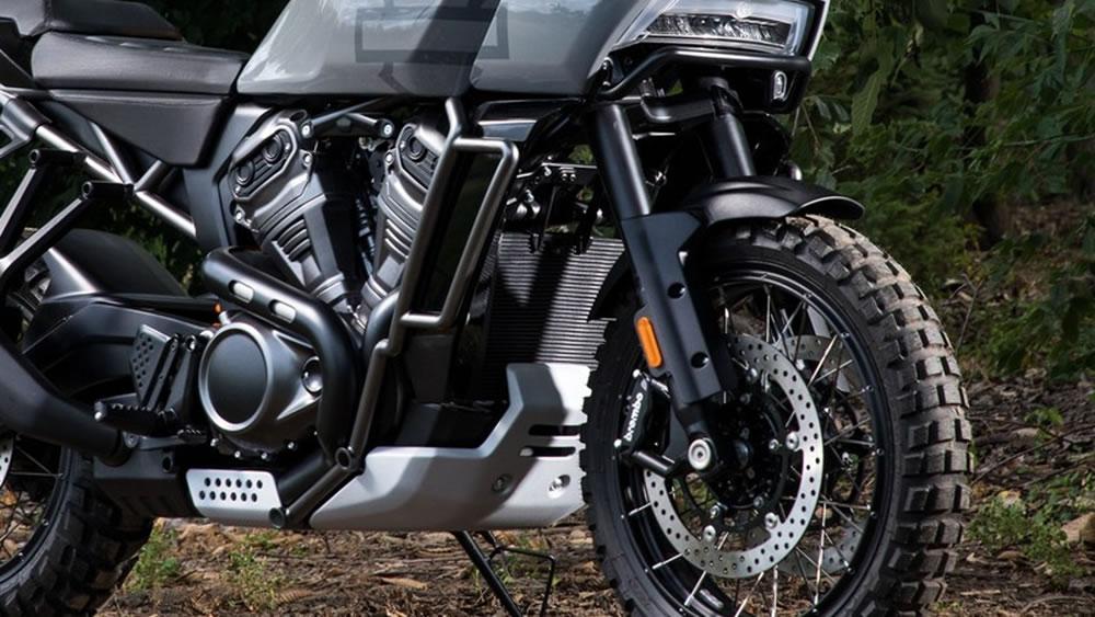Big Trail Harley Davidson Pan America 1250 Motorede
